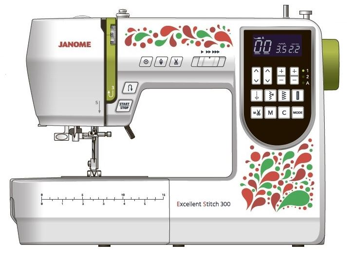 Janome Excellent Stitch 300 (ES300)