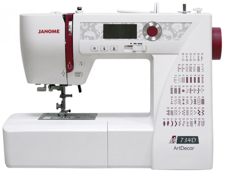 Janome Art Decor 734D